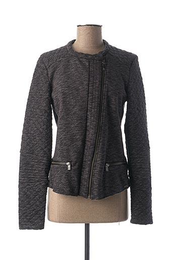 Veste casual gris MAISON SCOTCH pour femme