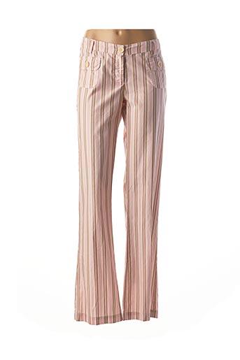 Pantalon casual rose HARTFORD pour femme