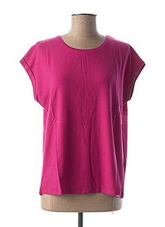 T-shirt manches courtes violet AWARE BY VERO MODA pour femme