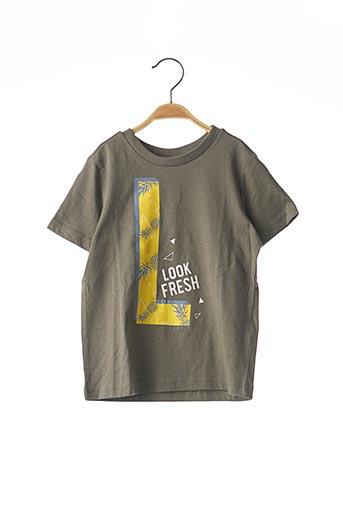 T-shirt manches courtes vert ESPRIT pour garçon