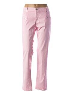 Pantalon casual rose CMK pour femme