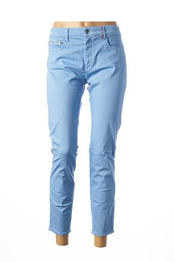 Pantalon 7/8 bleu COUTURIST pour femme