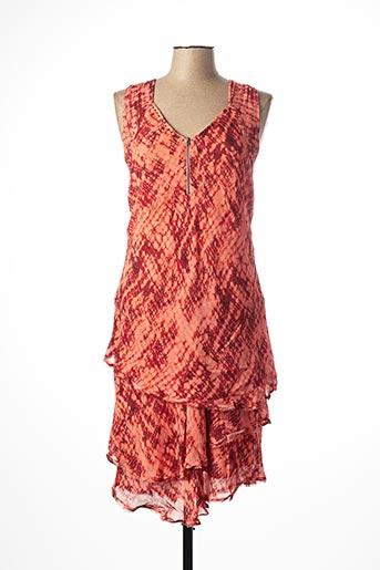Robe mi-longue rose ET COMPAGNIE pour femme
