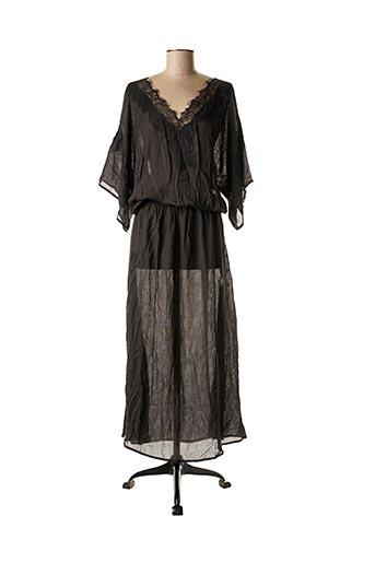 Robe longue noir BY SOPHIE pour femme