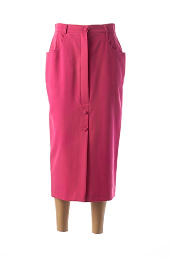 Jupon /Fond de robe rose FEDORA pour femme