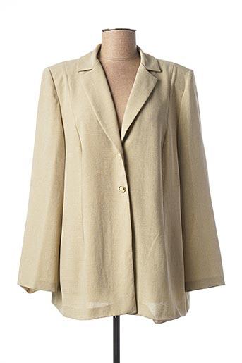 Veste casual beige COUTUREINE pour femme