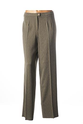 Pantalon chic vert CHRISTIAN MICHEL pour femme