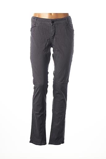 Pantalon casual gris ANNA SCOTT pour femme