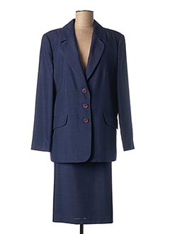 Veste/jupe bleu ALMINA pour femme