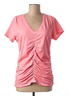 T-shirt manches courtes orange ANNA SCOTT pour femme