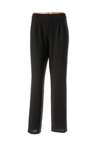 Pantalon casual noir CHRISTIAN MICHEL pour femme