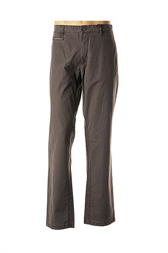 Pantalon casual gris STONES pour homme