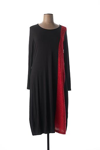 Robe longue rouge ALEMBIKA pour femme