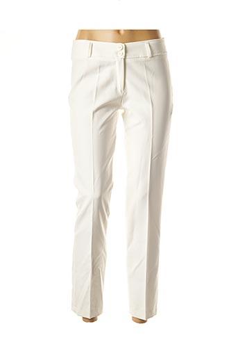 Pantalon 7/8 blanc FARUK pour femme