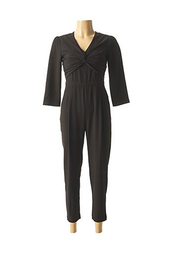 Combi-pantalon noir SUNCOO pour femme