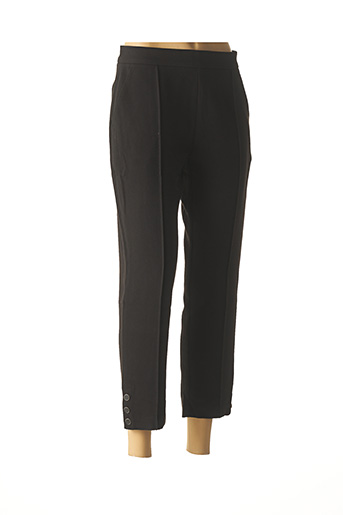 Pantalon 7/8 noir SUNCOO pour femme
