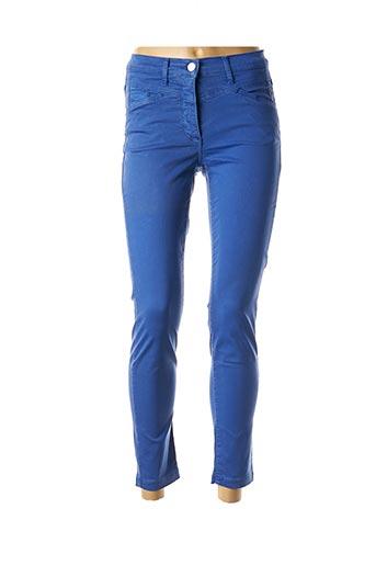 Pantalon 7/8 bleu BETTY BARCLAY pour femme
