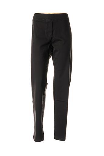 Pantalon 7/8 noir ELENA MIRO pour femme