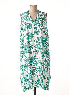 Robe mi-longue vert MARIA BELLENTANI pour femme