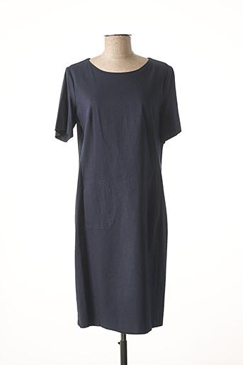 Robe mi-longue bleu DIANA GALLESI pour femme
