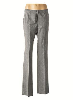 Pantalon chic gris DIANA GALLESI pour femme