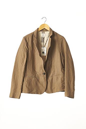 Veste chic / Blazer marron DIEGA pour femme