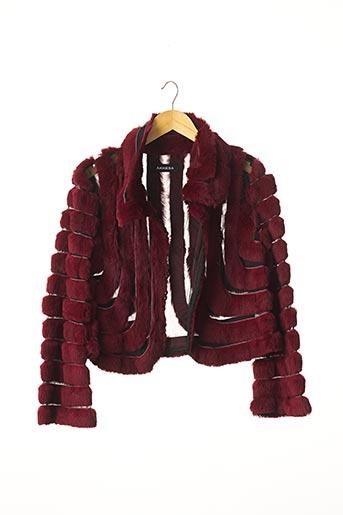 Veste chic / Blazer rouge AKHESA pour femme