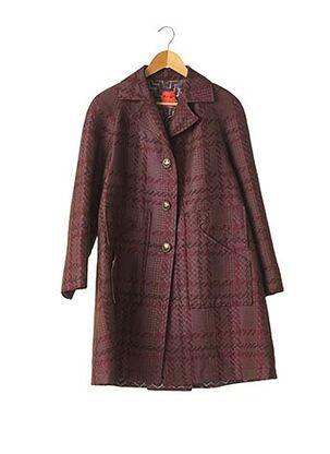 Manteau long rouge CHRISTIAN LACROIX pour femme
