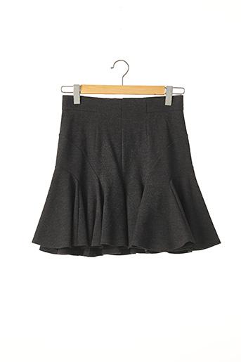 Jupe courte gris PAULE KA pour femme