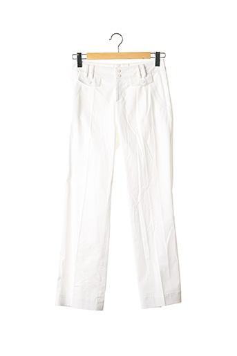 Pantalon casual blanc BOGNER pour femme