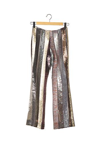 Pantalon casual gris REGINA RUBENS pour femme