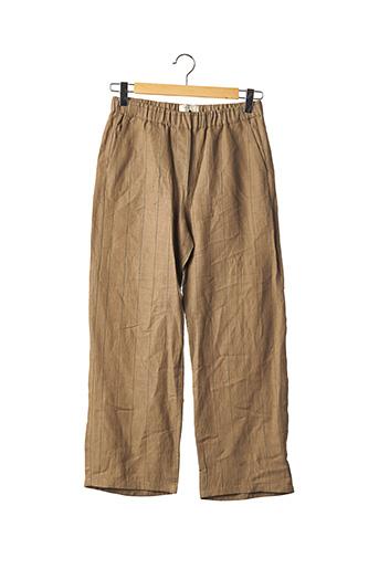 Pantalon casual marron DIEGA pour femme