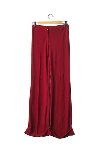 Pantalon casual rouge DOLCE & GABBANA pour femme