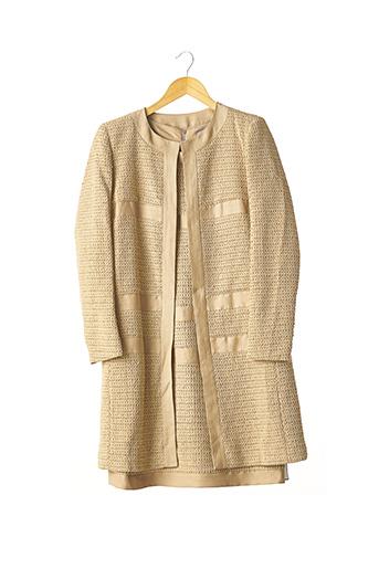 Veste/robe beige GEORGES RECH pour femme