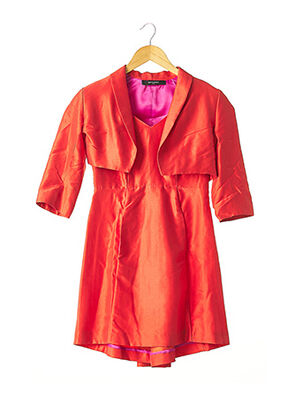 Veste/robe orange ALBI DE CORBIAC pour femme