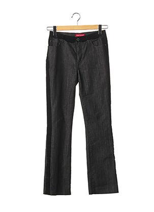 Pantalon 7/8 noir ANGELO MARANI pour femme