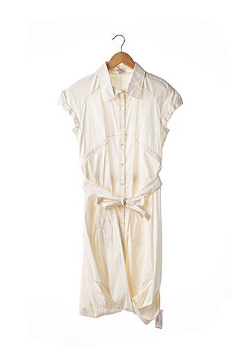 Robe mi-longue beige CELINE pour femme