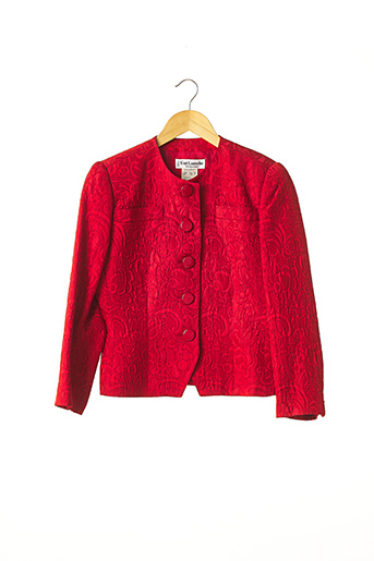 Veste chic / Blazer rouge GUY LAROCHE pour femme