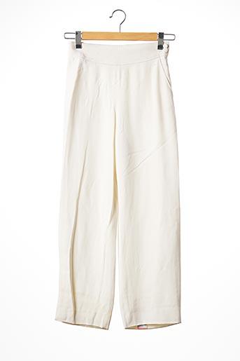 Pantalon 7/8 beige COURREGES pour femme