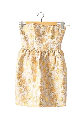 Robe mi-longue beige TARA JARMON pour femme