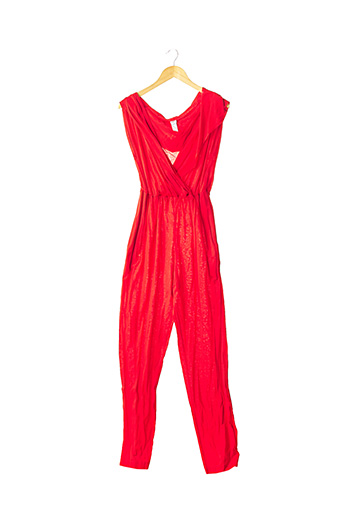 Combi-pantalon rouge ERES pour femme
