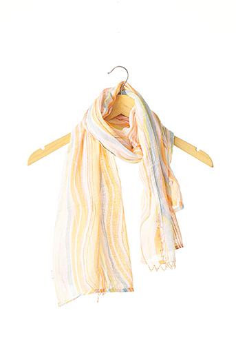 Foulard orange CALYPSO pour femme