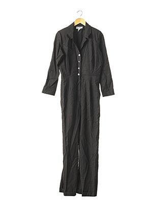Combi-pantalon noir ORA BRËTA PARIS pour femme