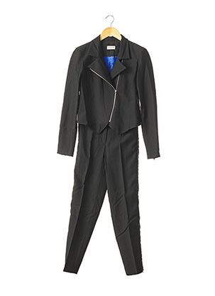 Veste/pantalon noir VERONIQUE LEROY pour femme