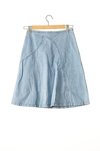 Jupe mi-longue bleu BARBARA BUI pour femme