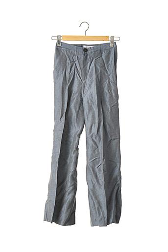 Pantalon 7/8 bleu ZARA pour femme