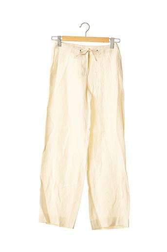 Pantalon chic beige MAXMARA pour femme
