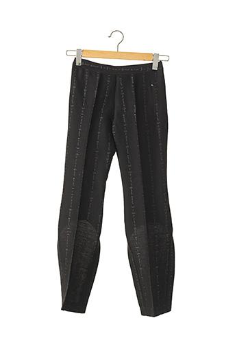 Pantalon chic noir ALEXANDER MCQUEEN pour femme