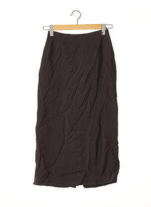 Jupe longue marron MAXMARA pour femme