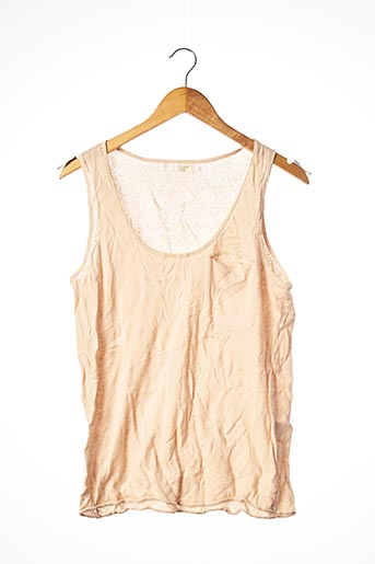 Pull col rond rose GOLD'N pour femme